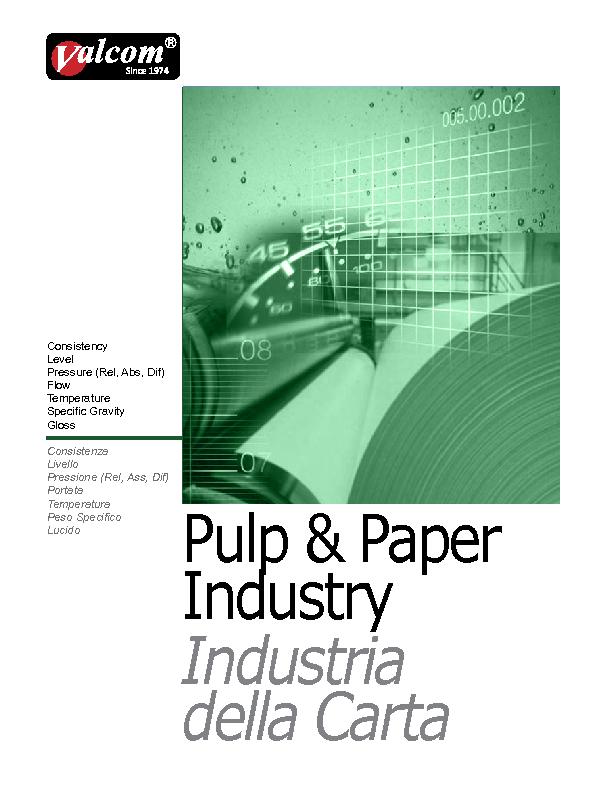 VALCOM CATALOGUE PULP & PAPER (1)